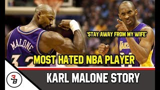 KARL MALONE STORY | ANG MOST HATED NBA PLAYER IN HISTORY