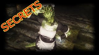 Quick Skyrim Lore: The Lusty Argonian Maid Secrets!