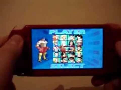 Neo-Geo MVSPSP v2.3.1 Roms [PSP]