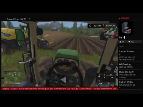 Friday Night Forestry Live | Harvest Helpers Needed | PS4 Livestream #1