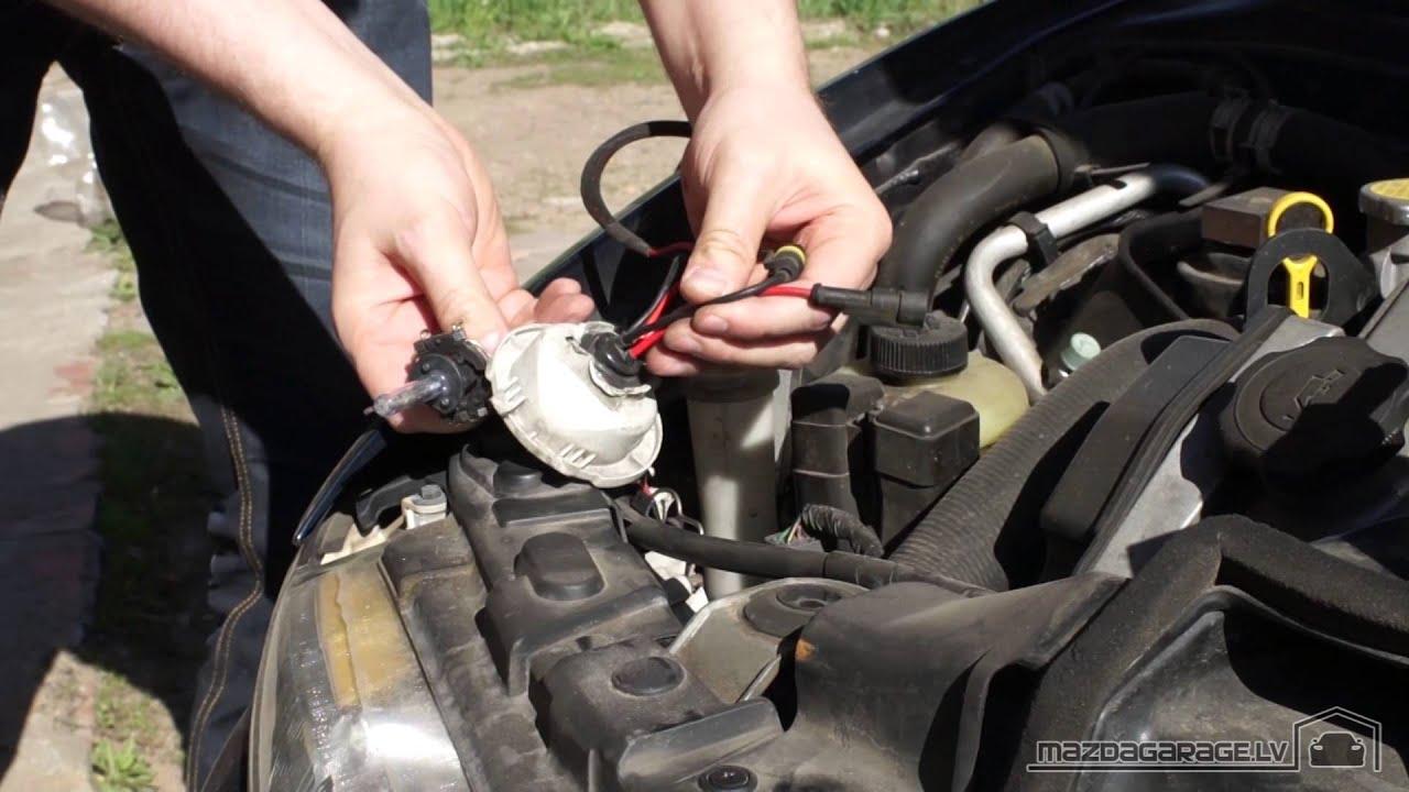 Как снять кетайский ксенон с Mazda Xedos 6