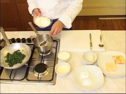 cuisine fran aise oeufs poch s la florentine youtube. Black Bedroom Furniture Sets. Home Design Ideas