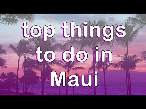Top things to do in Maui 2017 | Maui Vacation Ideas | Road to Hana, Wailea Beach | DJI Mavic, Osmo