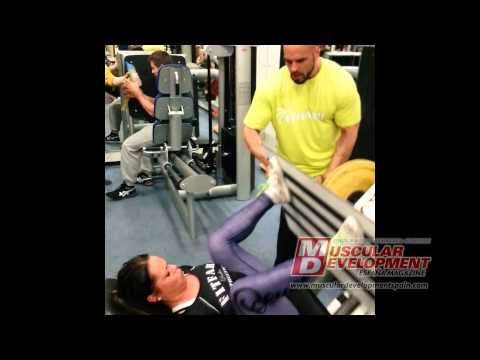 FIT FARM - SERGIO FDEZ- M.S.CAMP FINLAND 2014 - GLUTES & HAM WORKOUT