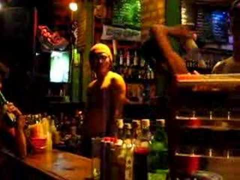 Crazy Bottle Skills - Bartending In Thailand (Flair) - Youtube