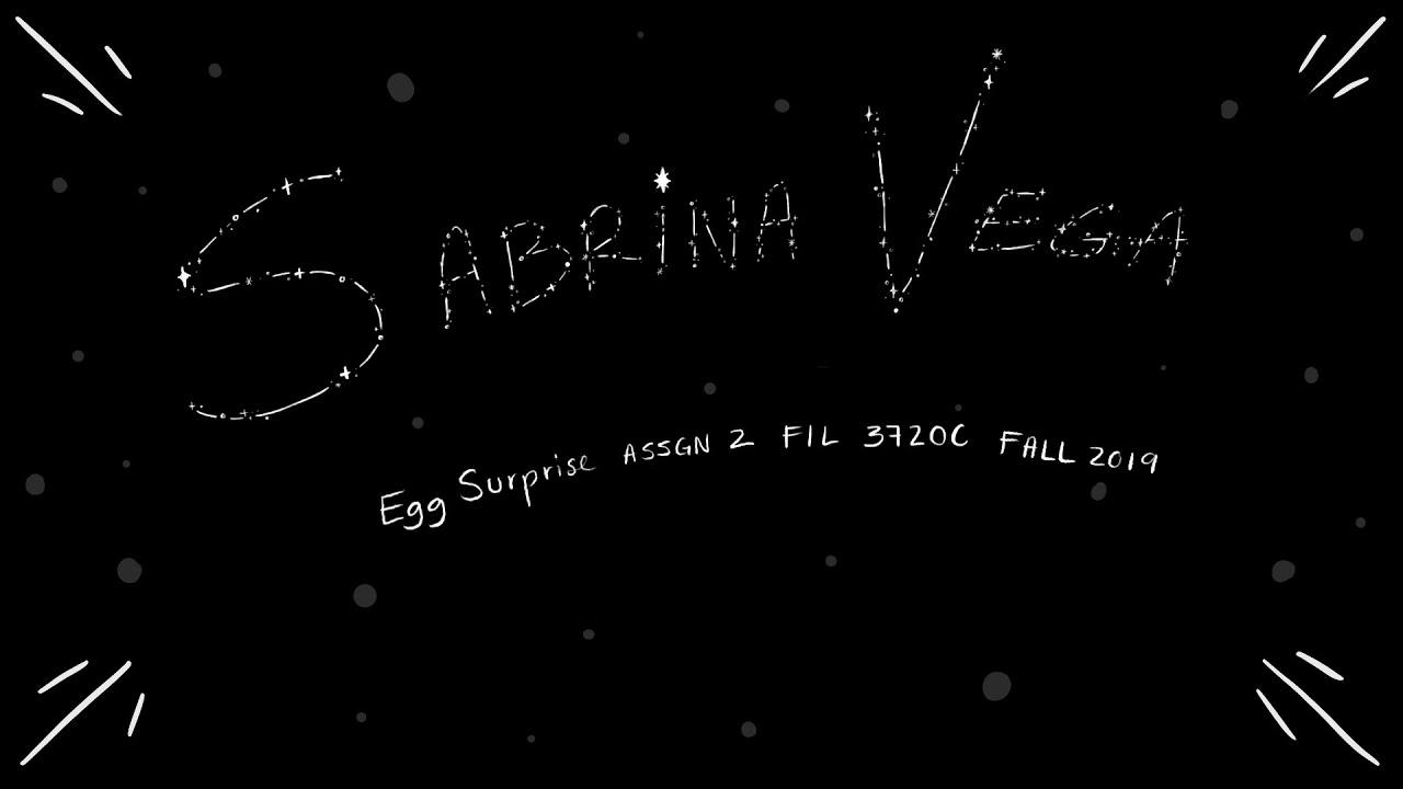 Egg Surprise - Sabrina Vega