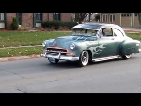 1952 Chevy 216 w/ Split Stock Manifold, Dual Exhuast, and Mellow 30 in. Smithy's