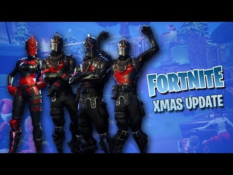 Knights, Lights, & Funky Fresh Dance Moves! NEW Fortnite Christmas Update