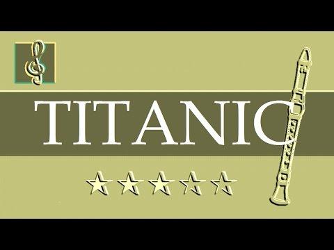 Recorder & Guitar Duet - My heart will go on - Titanic (Sheet music - Guitar chords)