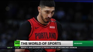 Enes Kanter lives with 'panic button' over threats