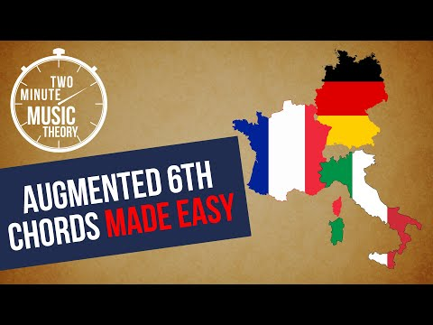 Augmented 6th Chords Made EASY! - TWO MINUTE MUSIC THEORY #26