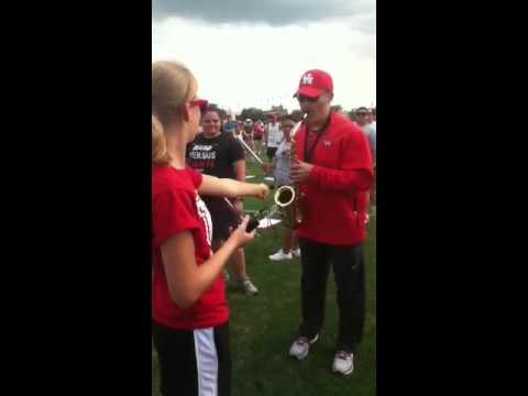 Coach Levine Jazzing it up!