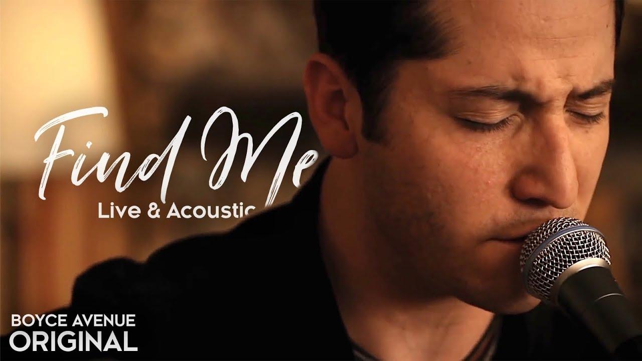 boyce avenue find me live acoustic original song on apple