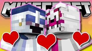 Minecraft Fnaf: Sister Location - Funtime Foxy Kisses Ballora (Minecraft Roleplay)