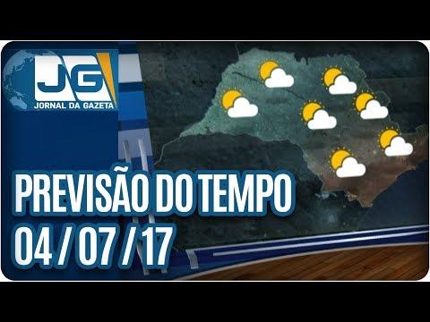Previsão do Tempo – 04/07/2017