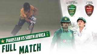 LIVE - Pakistan vs South Africa | 1st T20I 2021 | PCB