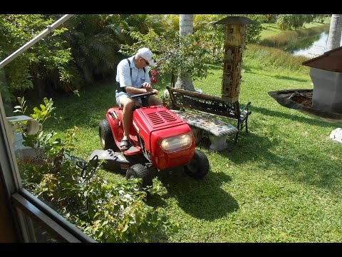 MTD Riding Mower repairs (Spring Extension)