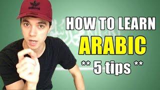 Скачать HOW TO LEARN ARABIC 5 Tips