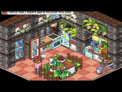 Habbo tuto comment faire une belle salle manger by for Wibbo me
