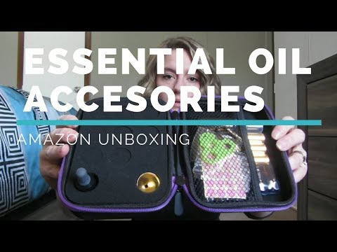essential-oil-accessories-from-amazon-unboxing