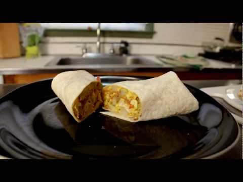 Breakfast Burrito – Cooking with The Vegan Zombie