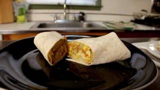 Breakfast Burrito - Cooking With The Vegan Zombie