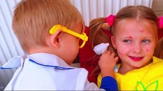 МАЛЫШ РАЙАН  ИГРЫ В ДОКТОРА  для детей