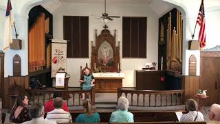 August 22, 2021 CL Lutheran Worship Service