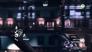 Batman: Arkham City - Nightwing Stealth Gameplay Video