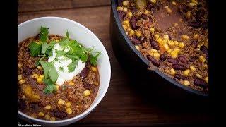 Folge172 - Chili con Carne aus dem Dutch Oven Deutsches BBQ- Grill- und Koch- Rezept