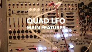 MALEKKO QUAD LFO - MAIN FEATURES