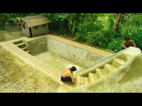 Build Swimming Pool Underground (Part 1)