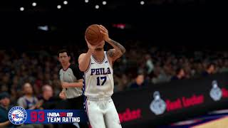 NBA 2K19 - Sixers Team Rating