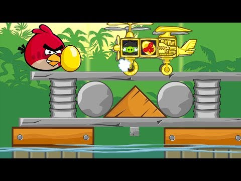 BAD PIGGIES STOP STOP STOP - Building Inventions To Help Piggy Steal Golden Egg!!