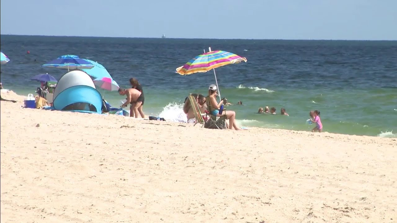 Visitors say Labor Day weekend is less crowded than usual