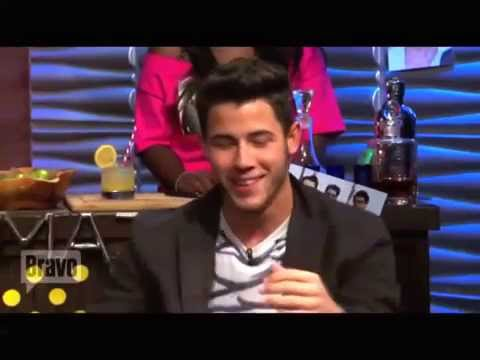 Joe Jonas Pleads the Fifth on WWHL 2013 HD