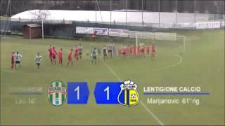 Rignanese-Lentigione 1-2 Serie D Girone D