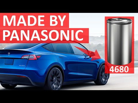 Tesla NEW 4680 BATTERIES made by Panasonic