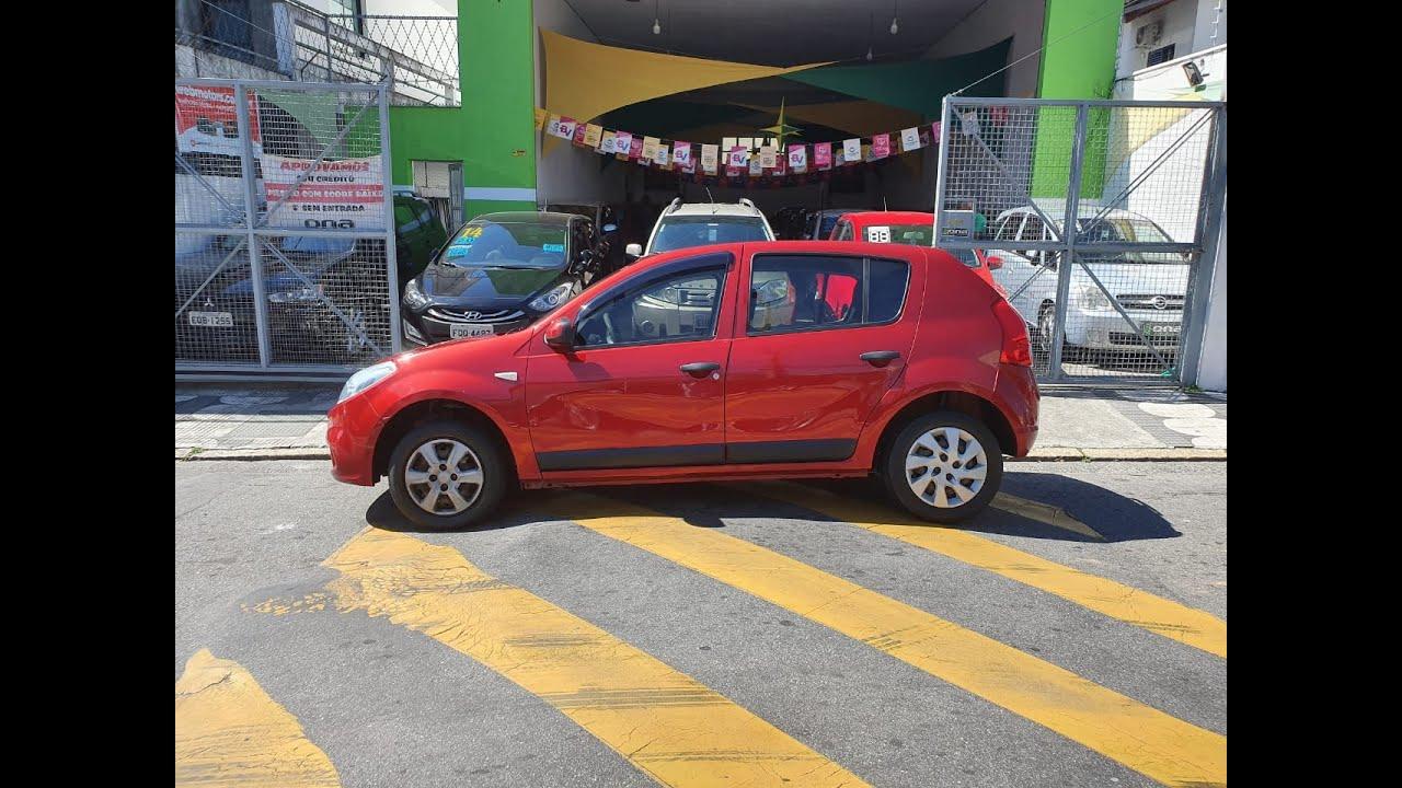 RENAULT/ SANDERO EXPRE 1.6 2012 COMPLETO ÓTIMO PARA APLICATIVOS TEM SCORE BAIXO LIGA AGORA!!!
