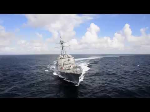John Finn DDG 113 First Builder's Sea Trials