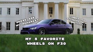 CAR TALK | 5 favorite wheels on F Chassis 3/4 series