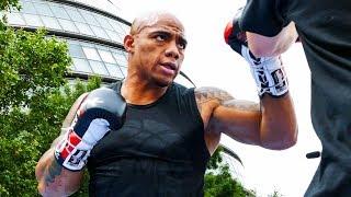 Oscar Rivas DANGEROUS FOR DILLIAN? Matchroom Boxing Public Workout