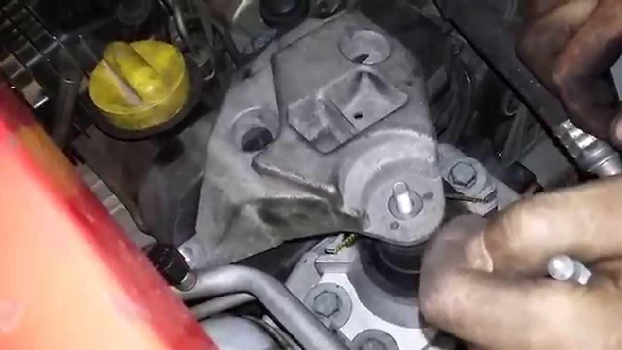 Wymiana Poduszki Silnika W Renault Clio Ii 15 Dci Audio