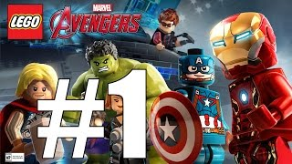 LEGO Marvel's Avengers Story Walkthrough Part 1 - Struck Off the List ~ No Commentary HD