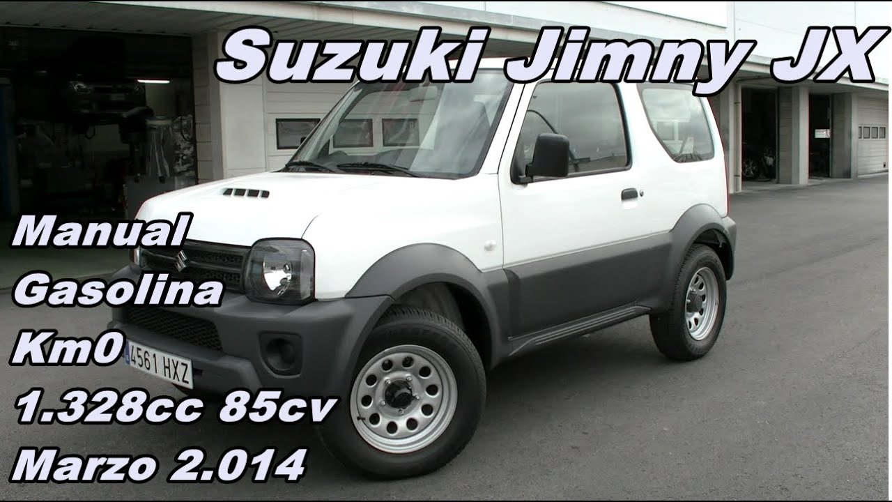 suzuki jimny 1 3 jx 14 manual gasolina 85cv km0 suzuki. Black Bedroom Furniture Sets. Home Design Ideas