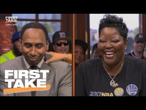 Thumbnail: Stephen A. Smith Apologizes To Kevin Durant's Mom | First Take | June 13, 2017