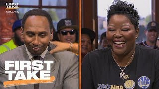 Stephen a. smith apologizes to kevin durant's mom | first take | june 13, 2017