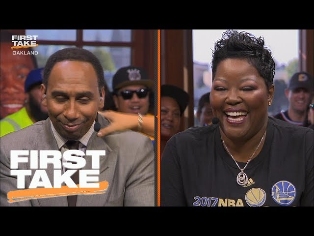 e7c8e4aa8126 Stephen A. Smith Apologized To Kevin Durant s Mom Wanda On First Take