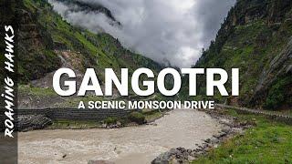 Scenic Drive to Gangotri – A video log by Roaming Hawks
