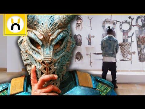 Secret History Of Erik Killmonger's Mask   Black Panther